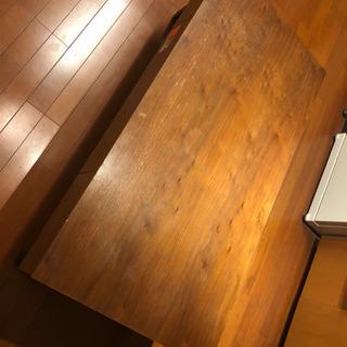 ウッドテーブル W1200×D600×H395