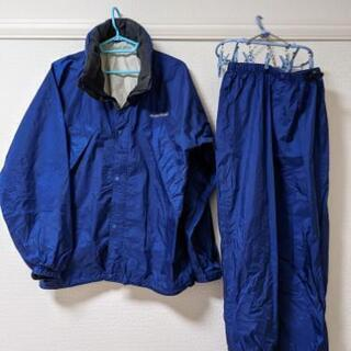 【mont-bell】レインスーツ(Lサイズ)