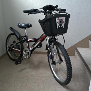 【中古】子供用自転車 20インチ 6段変速