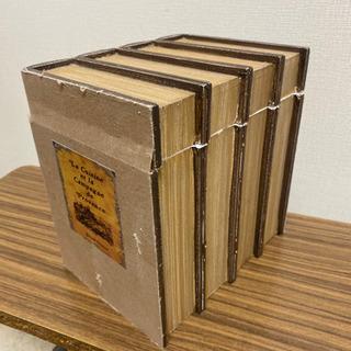本型小物入れ 古書風BOX アンティーク調 イミテーショ…