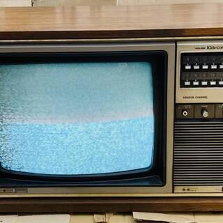 日立カラーテレビ C18-247E アンティーク