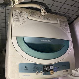 【取りに来られる方限定】日立洗濯機 2009年製