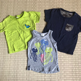 子供服 Tシャツ 80センチ 7枚