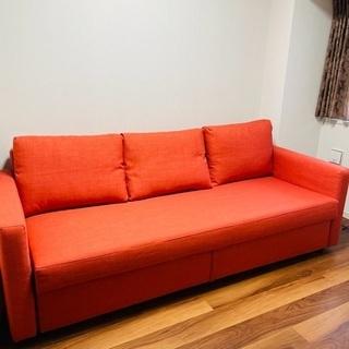IKEA ソファベッド ☆ フリーヘーテン ☆ オレンジ