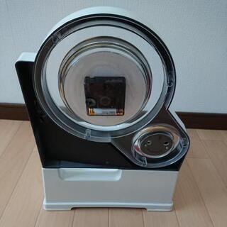 時計と温度計がついた電話台 − 和歌山県