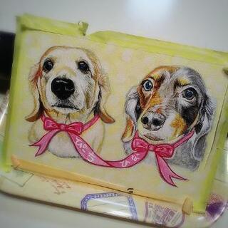 ペットの似顔絵描いてます‼️🐶🖌️人物画も描きます‼️