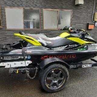seadoo 2010 rxt260 ジェットスキー トレ…