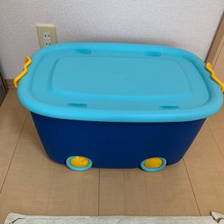 【ネット決済・配送可】ニトリ おもちゃ箱