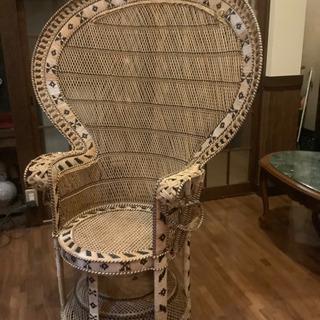 籐製 椅子