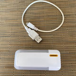 【アウトドア・災害時用】電池式モバイルバッテリー