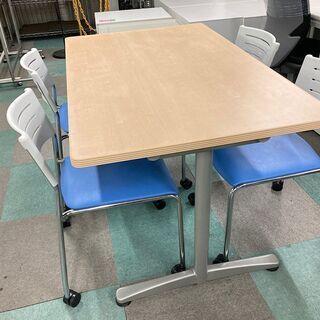 中古美品 ミーティングテーブル 会議机 会議テーブル ウチ…