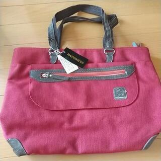 未使用✨赤紫のバッグ