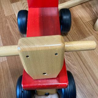 【ネット決済】KAWAI木製三輪車