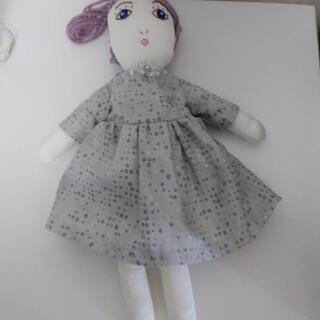 《お譲りします!》ちょっと個性的な可愛い手作り人形
