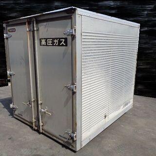 トラックコンテナ 箱 2t 2210x1810x1960 アルミ...