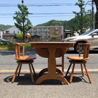 2人がけダイニングテーブル・椅子セット