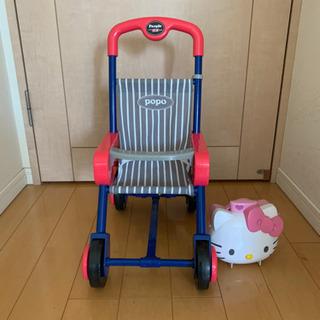 【ネット決済】おもちゃ ベビーカー キティちゃんドールハウス