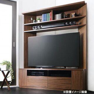 【自社配送は札幌市内限定】ハイタイプ コーナーテレビボード 大型...