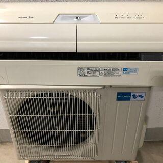 安心の三菱 霧が峰 6畳用エアコン MSZ-HW221-W