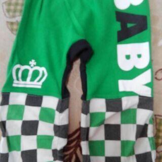 BABY DOLL モンキーパンツ(緑)