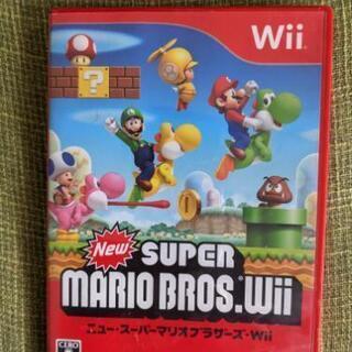 Wiiソフト スーパーマリオブラザーズ