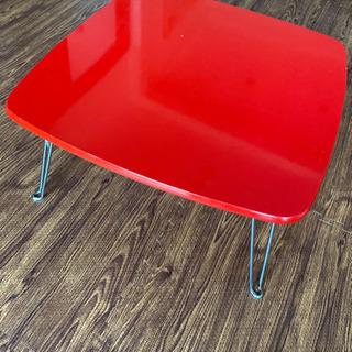 【ネット決済】折りたたみ 小さめテーブル