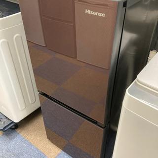 【都内送料無料】 高年式 ハイセンス ガラストップ冷凍冷蔵庫 H...