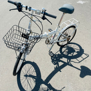 折り畳み自転車 20インチ 配送可能‼︎ K05006