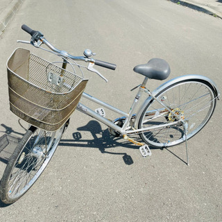 シティサイクル自転車 27インチ 配送可能‼︎ K05008