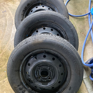 155/70r13 軽自動車用タイヤ ホイール付き