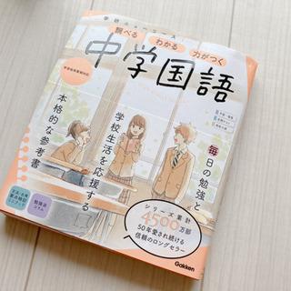 【ネット決済】ほぼ未使用!中学国語の参考書!