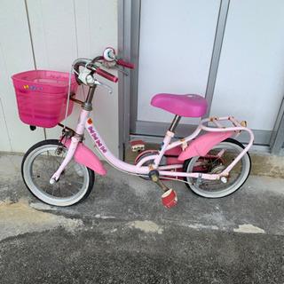 子供用(14インチ?)キティーちゃん自転車