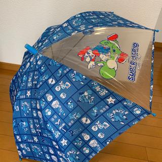 スーパーマリオ 傘 新品 50cm