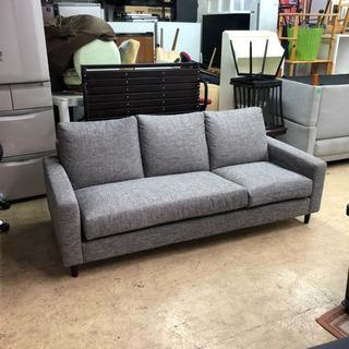 3人掛けソファ・ファミリータイプ・大きいソファー(内側シミ…
