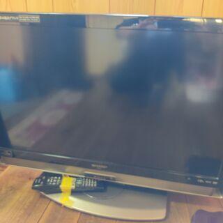 シャープ32型液晶テレビ&フナイ22型液晶テレビ