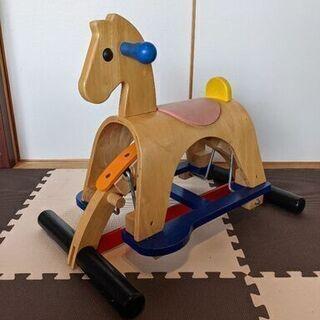 【現金】プラントイ スイング木馬