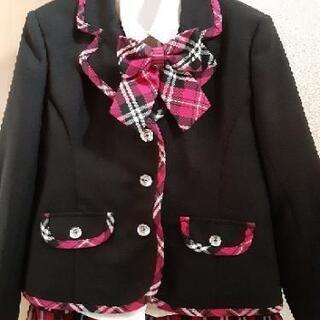 size130 女の子スーツ