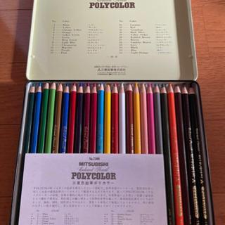 三菱色鉛筆ポリカラー 24カラー