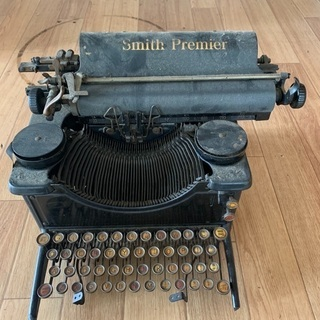smith premier タイプライター 現状品 アンテ…