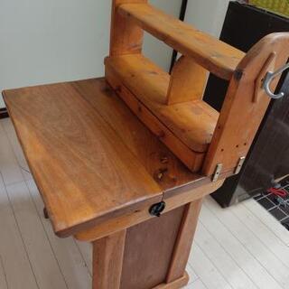 DIY 手作り木工子供用机