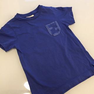 フェンディ  FENDI Tシャツ  トップス カットソー ブルー