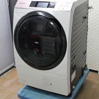 パナソニック ドラム式洗濯乾燥機(左開き)洗濯10㎏/乾燥6.0...