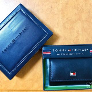 土日限定価格!TOMY HILFIGER  6連キーケース