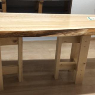 檜(ひのき)のテーブル