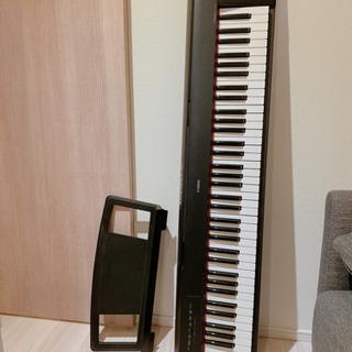 【ネット決済】美品 YAMAHA 76鍵盤 キーボード ケース付...