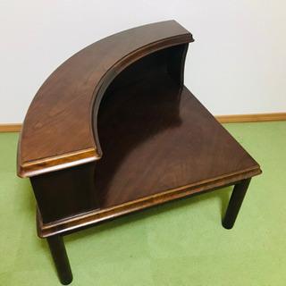 マルニ木工 高級 コーナーテーブル