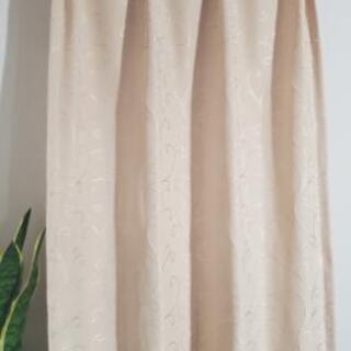 小窓用カーテン 2枚セット