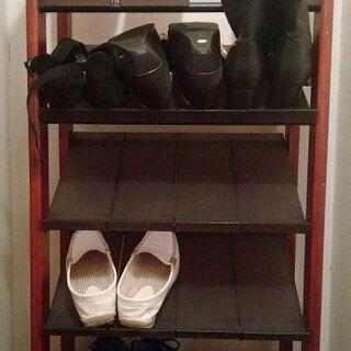 靴箱 シューズボックス と スリッパラック
