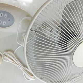 壁掛け扇風機リモコン付