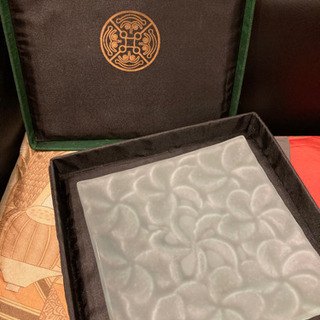【ネット決済】ジェンガラケラミック♡フランジパニプレート箱入り